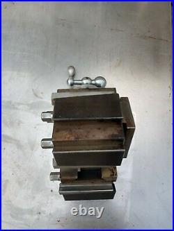 Aloris Bxa-u Tool Post Quick Change Adjustable