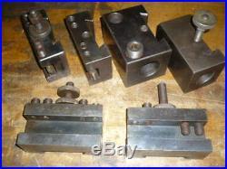 Aloris CA tool holders, (3) CA1, CA2, CA41, CA54