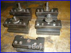 Aloris CA tool holders, (5) CA1