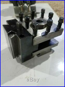Aloris CXA-H Universal Mounting Dovetail Head Tool Post with latern CXAH wedge