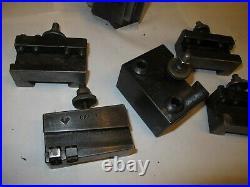 Aloris CXA Quick Change Tool Post 6 Piece Set USA
