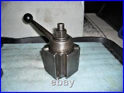 Aloris CXA Wedge Type Quick Change Tool Post with (5) Holders