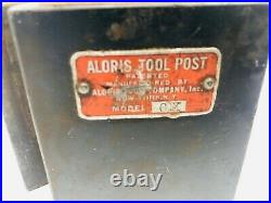 Aloris CX Quick Change Tool Post, one CX1 tool holder with standard fine bolt