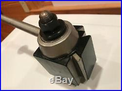 Aloris, Cxa Super Precision Tool Post, Quick Change 13-18 Swing E070, Used