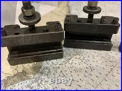 Aloris Cxa Tool Holders Assorted 4 Pieces USA Quick Change