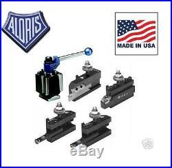 Aloris DA Tool Post Indexable Starter Set 4 Holders DA-I-SET