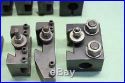 Aloris, Dorian CXA 8 pc Set #3 Quick Change Tool post Holders
