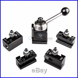 Aloris Miniature Ultra-Precision MXA Quick Change Tool Post Set 4 Holders USA