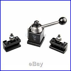 Aloris Miniature Ultra-Precision MXA Quick Chg Tool Post Intro-Pro Set 2 Holders