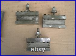 Aloris Model CA Quick Change Tool Post with 4 tool holders