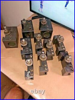 Aloris Quick Change Tool Holders Ca1 Qty 2, Ca2 Qty 4, Ca4q-1750, Ca4, Ca4q-2000