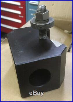 Aloris Quick Change Tool Post Morse Taper 4 MT Holder CA-54-I-S Metal Lathe Tool