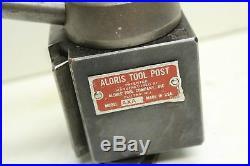 Aloris Tool Post Super Precision Quick Change Tool Model AXA