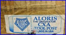 Aloris Wedge Type Quick Change Tool Post 13 to 18 Lathe Swing CXA