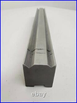 Amada Press Brake Tooling Quick Change 2V Die 50380 15.75 Long 90° V Angle