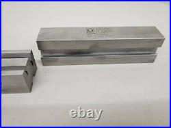 Amada Press Brake Tooling Quick Change Acute Angle 2V Die Sectionalized 6 Pieces