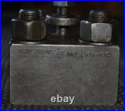 Armstrong QC-5 QUICK CHANGE TOOL POST With3 Holders CXA Series