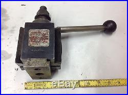 Armstrong QC-6 Quick Change Tool Post Piston Style with 6A-QC Holder