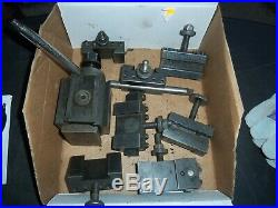 Armstrong Swing Quick-Change Lathe Precision Tool Post withHolders 8 Pieces LOOK