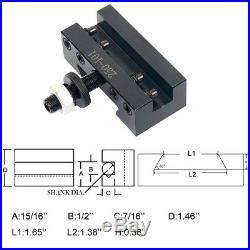Axa #2/post Holder 250-101 Quick Change Turning Facing & Boring Cnc Tools