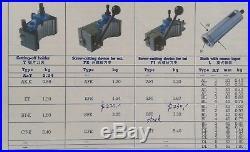 B2 40 Position Quick Change Lathe Tool Post Kit Miltifix Tool Holder