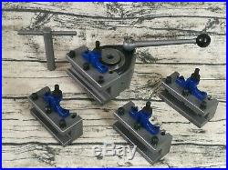 B2 40 Position Quick Change Tool Post Kit For 300-500mm Swing Lathe 12 to 20