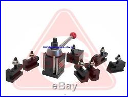 BOSTAR AXA 250-111 Wedge Tool Post for Lathe 6 12 Plus 2 Extra XL Tool Holder
