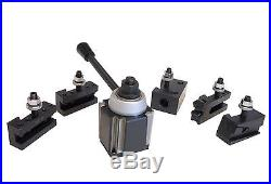 BXA Wedge Type Quick Change Tool Post Set 250-222 for Lathe 10 15