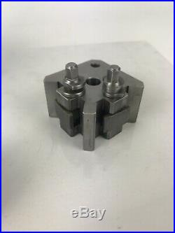 Bison T00 Quick Change Tool Post & 5 Tool Holders Suit Myford
