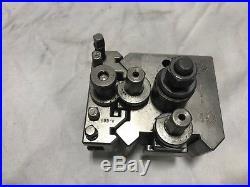 Boni Feldbach Type 80 Lathe Quick Change Tool Post withTool Holder USED