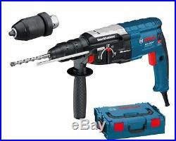 Bosch GBH 228 F1 880w SDS-Plus Hammer drill Quick Change Chuck in L-Boxx 240v