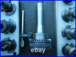 Bridgeport R8 Quick Change Master & 26 Tool Holders