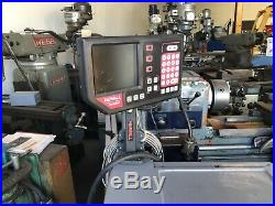 CADILLAC 14 x 22 G Manual Engine Lathe withnewall Dro/ Quick Change Tool Post