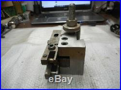 CA-1 TURNING & FACING TOOL HOLDER QUICK CHANGE 1/2-1 CAPACITY With KNURLING TOOL