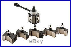 CA Size Piston Type Quick Change Tool Post Set for Lathe 14-20 250-400 Set New