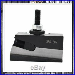 CXA Size 250-333 Set Wedge Type Quick Change Tool Post Set for Lathe 13- 18 New