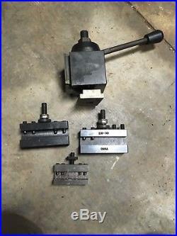 CXA Tool Post Set CNC Quick Change 13-18 Metal Lathe Holders 300 Series