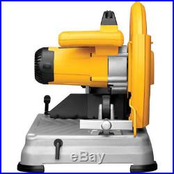 DEWALT 14 Chop Saw with Quick-Change System D28715 Reconditioned