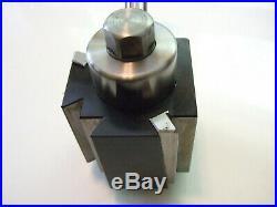 DTM Quick change Lathe Tool Post Hi Quality USA incl. Aloris CXA boring bar hold