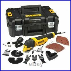 DeWALT DWE315KT Oscillating CORDED Multi Tool Quick Change + 37 Accessories 240v
