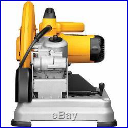 DeWalt D28715 14 Heavy-Duty Chop Saw withQuick-Change Keyless Blade Change System