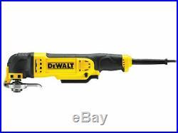 Dewalt DWE315KT Oscillating Multi-Tool Quick Change Tool Release & TStak 240volt