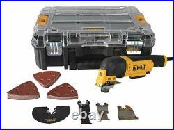 Dewalt Dwe314kt 240v Multi Tool + Quick Change Tool + Case