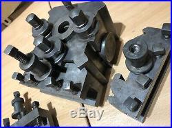 Dickson S3 Quick Change Tool Post & 3 X Holders Lathe Colchester Harrison Etc