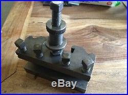 Dickson S3 Quick Change Tool Post Holder Lathe Colchester Harrison Etc