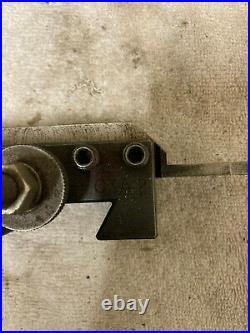 Dorian Cnc / Manual Lathe Quick Change Tool Post & Holder Set
