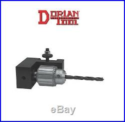 Dorian Quick Change Tool Post AXA Keyless Drill Chuck Holder D25AXA-35 NEW