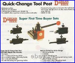 Dorian Quick Change Tool Post SET CXA 14 To 17 NEW