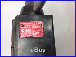 Dorian SD30BXA Super Quick Change Tool Post 13-15 Lathe Swing. USED