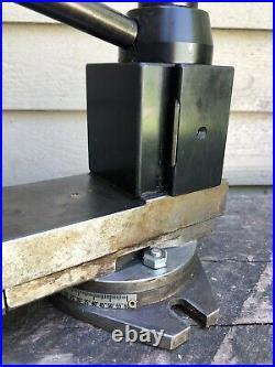 Dorian Tool Post SD30BXA Quick Change Slide Holder Lathe Tool